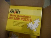Wood Tessellation Jig Saw Puzzle 3-Ply Sanded Plywood
