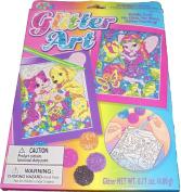 Lisa Frank Glitter Art Kit - Varied Designs