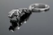 SweetSmile Jaguar Car Logo Key Ring Chain New 3D Purse Bag Fashion Keychain Cute Lover Gift