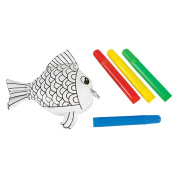 Colour Your Own Fish Tube
