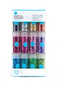 Martha Stewart Crafts Glitter, 12-Pack