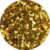erikonail Hologram Round 1mm Dark Gold ERI-41