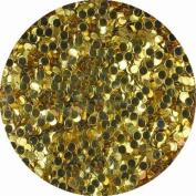 erikonail Hologram Round 1mm Light Gold ERI-42