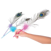 Peacock Feather Pens (1 dz)