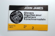 John James Glovers Needles, Size 2