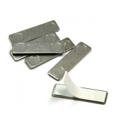CMS Magnetics® Metal Strike Type II with Adhesive for Enclosure Magnet 4.6cm x 1.3cm x 0.7.6cm Ct.100