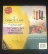 Country Lane Beeswax Kit- Birthday Cake Candle Kit