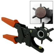 """9-1/2"""" Heavy Duty Leather Hole Punch Hand Pliers Belt Holes Punches 2.0mm to 4.5mm Leather Bands/Belts"""