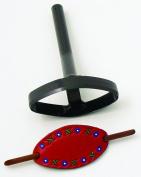 Belgium Diecraft Steel Mallet Die for 5.1cm x 10cm Oval Barrett