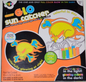 Giant GLO Suncatcher Bright Colours in the Light and Glowing Colours in the Dark.