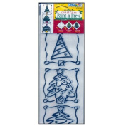 Christmas Paint 'N Press Transfer By Delta CeramDecor #455620412