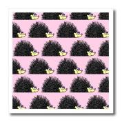 Janna Salak Designs Small Pets - Cute Hedgehog Print Pink - Iron on Heat Transfers