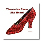 Lee Hiller Designs General Themes - Ruby Slipper - There is No Place Like Hone - Iron on Heat Transfers