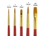 Fundamentals Short Handle Brush Set No. 8
