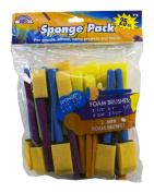 Loew Cornell 72 25-Piece Brush Set, Sponge