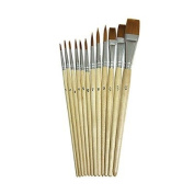 watercolour BRUSHES 12PK ASSORTED