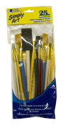Loew Cornell 1021086 Simply Art Brush Value Packs