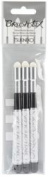 Imagine Crafts Paint Brushstix 3-Pack Mixed Media Paint Brushes