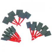 24 Piece Foam Brush Set