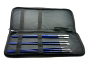 Grace Art Brush Storage Case w/ Bonus Brush Set BCL007