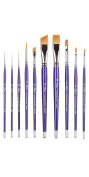 The Artist's Club Papillon Resin Brush Set