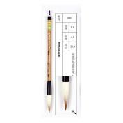 0.9x4.8cm Outi Zhengshu Zhongkai Mixed Hair Zhouhuchen Tiger Chinese Calligraphy and Painting Brush