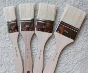 Encaustic Hog Bristle Brush Set