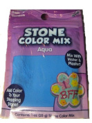 Stone Colour Mix Aqua
