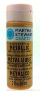 Plaid:Craft - Martha Stewart Metallic Glitter Acrylic Craft Paint 60ml