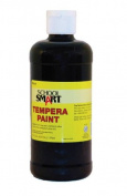 School Smart Tempera Paint - Pint - Black