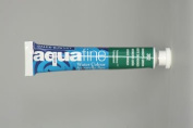 Daler Rowney Aquafine Watercolour Hookers Green half pan
