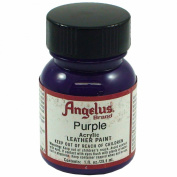 Springfield Leather Company's Purple Acrylic Leather Paint