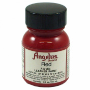 Springfield Leather Company's Red Acrylic Leather Paint