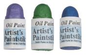 Jack Richeson Shiva Oil Paintstik, Summer, Set of 3
