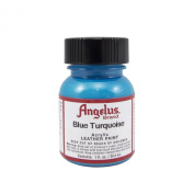 Springfield Leather Company's Blue Turquoise Acrylic Leather Paint