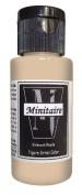 Badger Air-Brush Company, 60ml Bottle Minitaire Airbrush Ready, Water Based Acrylic Paint, Ancient Bone