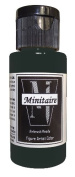 Badger Air-Brush Company, 60ml Bottle Minitaire Airbrush Ready, Water Based Acrylic Paint, Coal