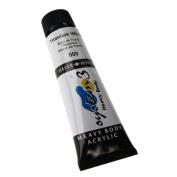 Daler-Rowney System 3 Heavy Body Acrylic 75 ml Tube - Titanium White