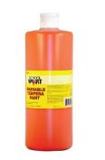 School Smart Washable Tempera Paint - Quart - Orange