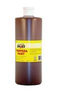 School Smart Tempera Paint - Quart - Brown