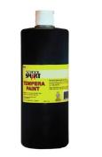 School Smart Tempera Paint - Quart - Black