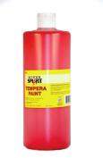 School Smart Tempera Paint - Quart - Red