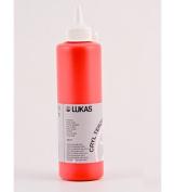 LUKAS CRYL Terzia Acrylic 500 ml Bottle - Chromium Green Light Hue