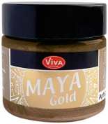 Viva Decor 123245034 Maya Gold Paint, Coco