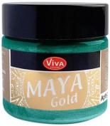 Viva Decor 123265034 Maya Gold Paint, Turquoise