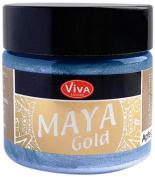 Viva Decor 123260034 Maya Gold Paint, Blue