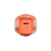 Cube Shaped Square Acrylic Beads in Various Colour Options & Pack Sizes