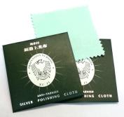 2 x Anti-tarnish Silver Polishing Cloth Jewellery Cleaner