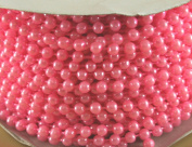 4mm Faux Pearl Plastic Beads on a String Craft Roll Pink