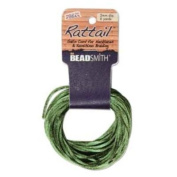 Rayon Satin Rattail 1mm Cord - Knot & Braid - Dark Olive Green